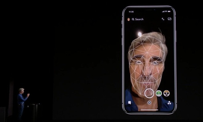 Apple's Face ID Working